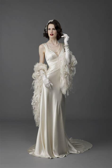 retro vintage wedding dresses jpg 683x1024